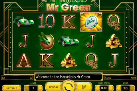 marvellous mr green netent spielautomaten