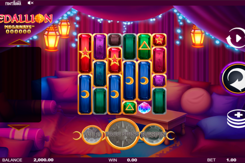 medallion megaways fantasma games