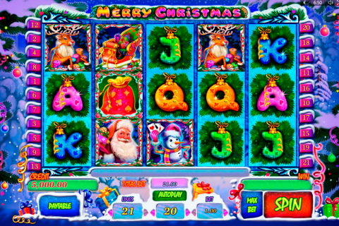 merry christmas playson spielautomaten