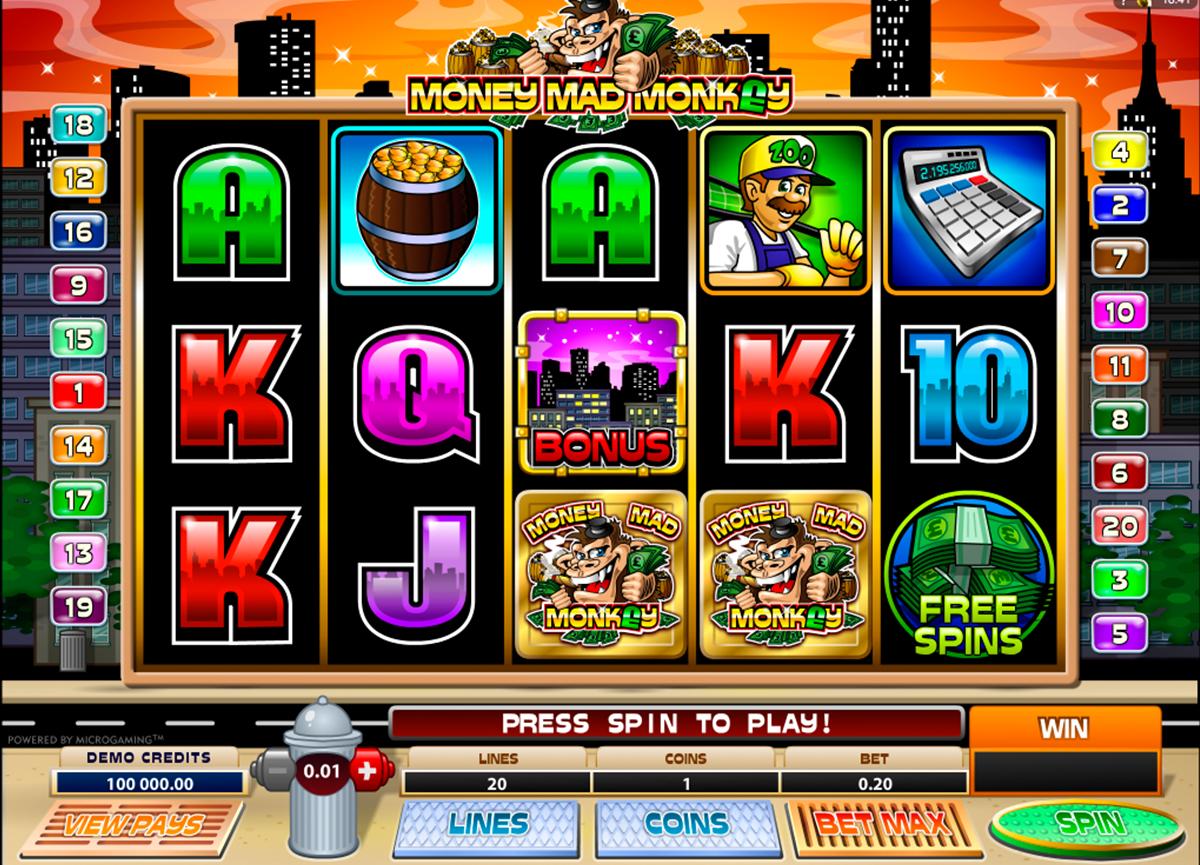 Spiele Mad Mad Monkey Mini - Video Slots Online
