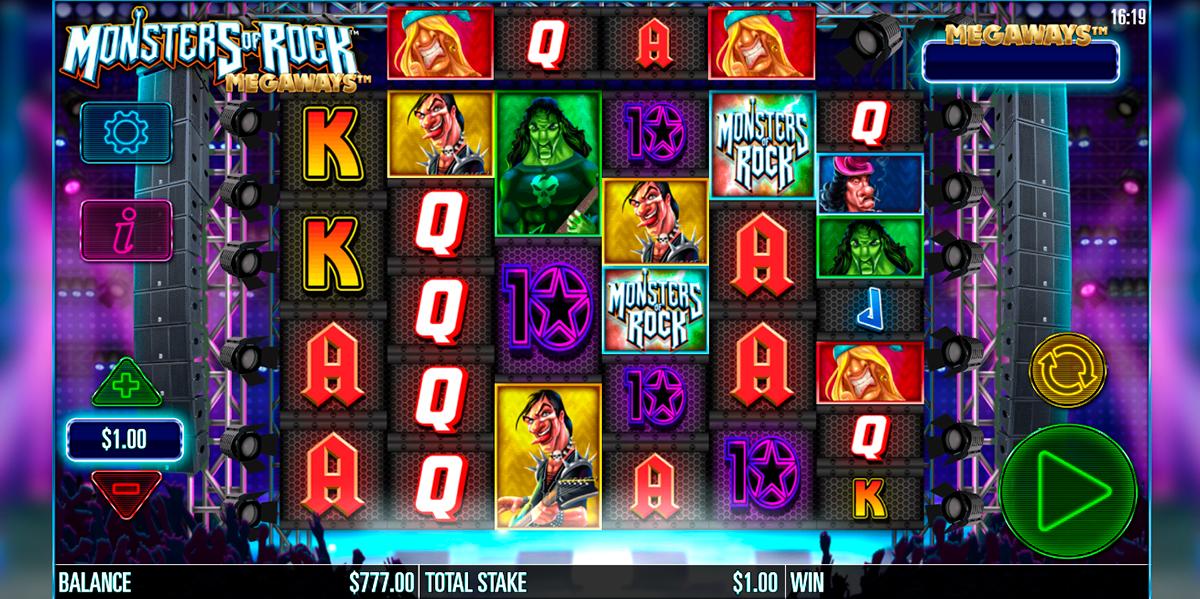 monsters of rock megaways storm gaming