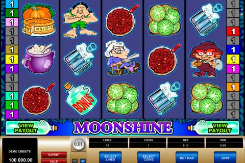 moonshine microgaming spielautomaten