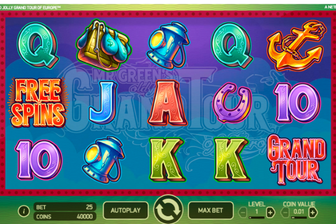 mr greens old jolly grand tour of europe netent spielautomaten