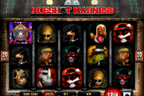 mugshot madness microgaming spielautomaten