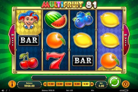 multifruit  playn go spielautomaten
