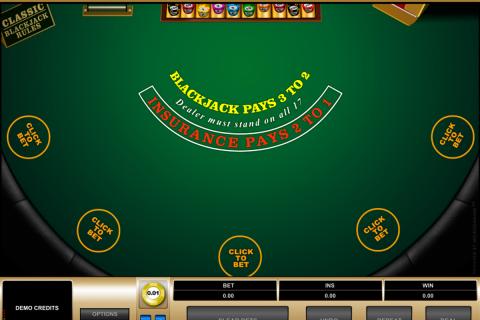 multihand blackjack microgaming online