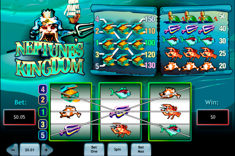 neptunes kingdom playtech spielautomaten