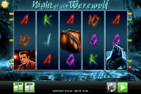 night of the werewolf merkur spielautomaten