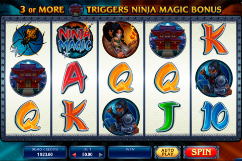ninja magic microgaming spielautomaten