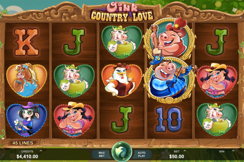 oink country love microgaming spielautomaten