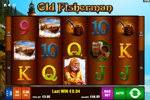 old fisherman bally wulff spielautomaten