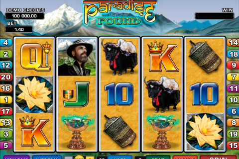 paradise found microgaming spielautomaten
