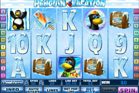 penguin vacation playtech spielautomaten