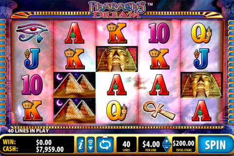 pharaohs dream bally spielautomaten