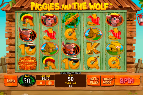 piggies and the wolf playtech spielautomaten