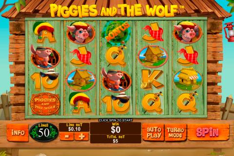 piggies and the wolf playtech spielautomaten