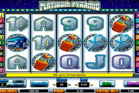 platinum pyramid amaya spielautomaten