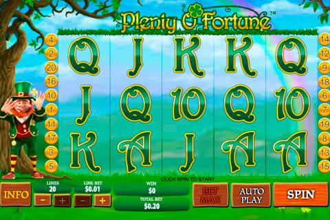 plenty o fortune playtech spielautomaten