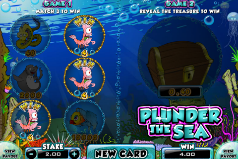 plunder the sea microgaming online