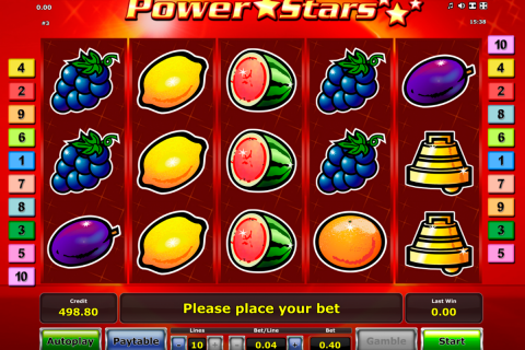 power stars novomatic spielautomaten