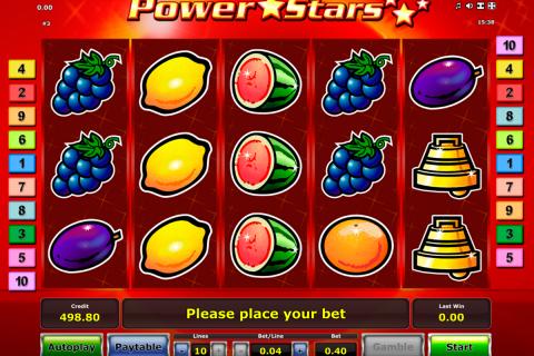 power stars novomatic spielautomaten