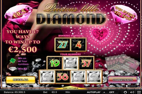 precious little diamonds yggdrasil online