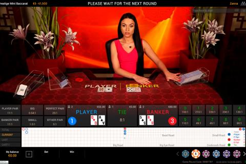 prestige baccarat playtech online