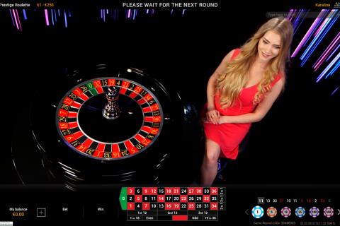 prestige live roulette playtech online