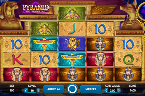 pyramid quest for immortality netent spielautomaten