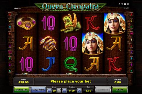 queen cleopatra novomatic spielautomaten