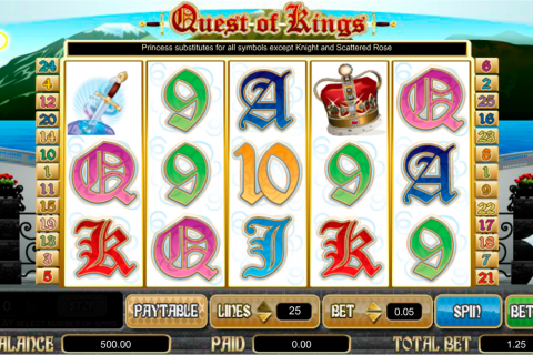 quest of kings amaya spielautomaten
