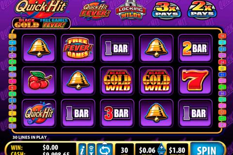 quick hit black gold bally spielautomaten