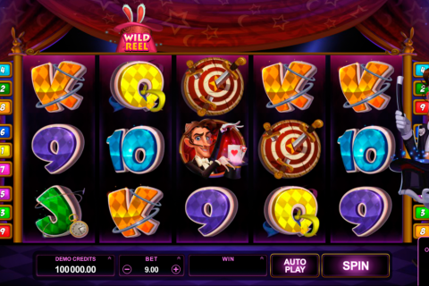 rabbit in the hat microgaming spielautomaten