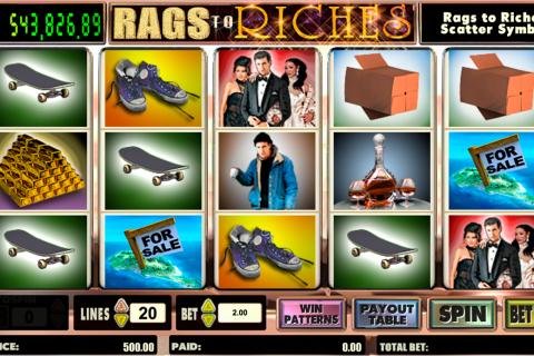 rags to riches amaya spielautomaten