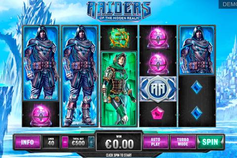 raiders of the hidden realm playtech spielautomaten