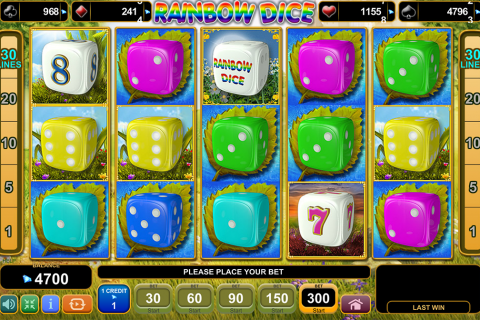 rainbow dice egt spielautomaten