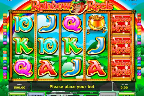 rainbow reels novomatic spielautomaten
