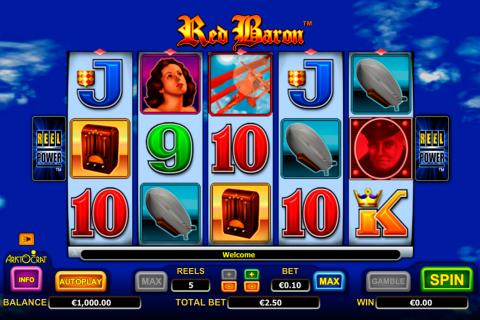 red baron aristocrat spielautomaten