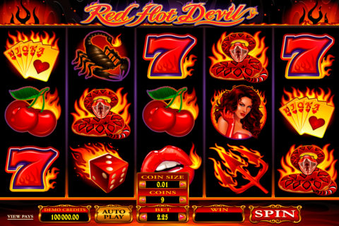 red hot devil microgaming spielautomaten