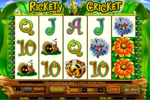 rickety cricket amaya spielautomaten