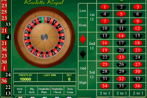 roulette royal amatic online