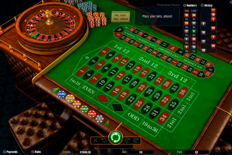 roulette with track high playson online