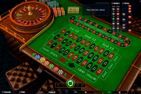 roulette with track low playson online