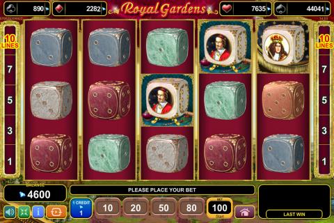 royal gardens egt spielautomaten