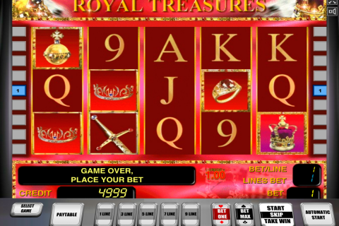 royal treasures novomatic spielautomaten