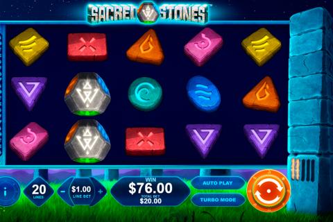 sacred stones playtech spielautomaten