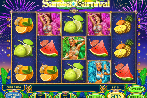 samba carnival playn go spielautomaten