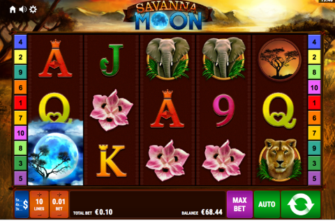 savanna moon bally wulff spielautomaten