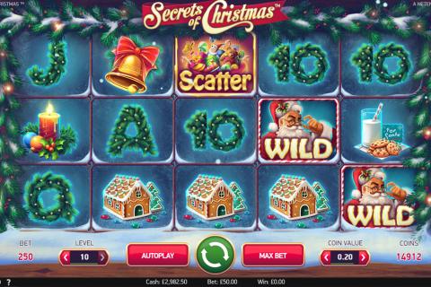 secrets of christmas netent spielautomaten