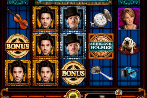 sherlock holmes the hunt for blackwood igt spielautomaten